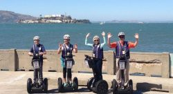 Alcataz Island in San Francisco Bay - San Francisco Segway Tours