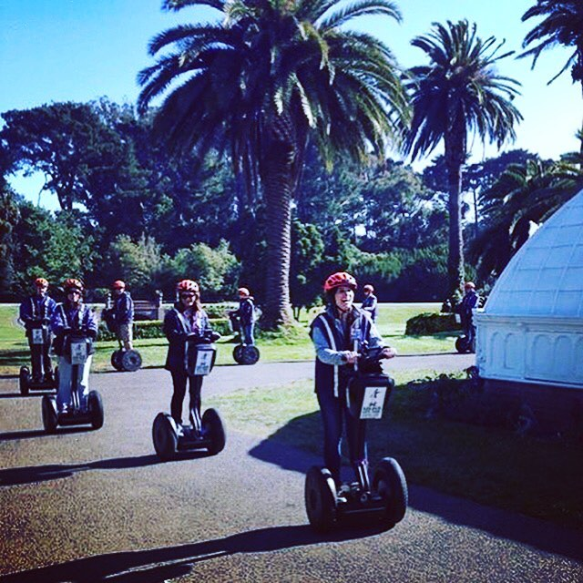 Segway tours in San Francisco's Golden Gate Park are today's featured segway tour. . Electric Tour Company - Segway Tours 415-474-3130 electrictourcompany.com . . .