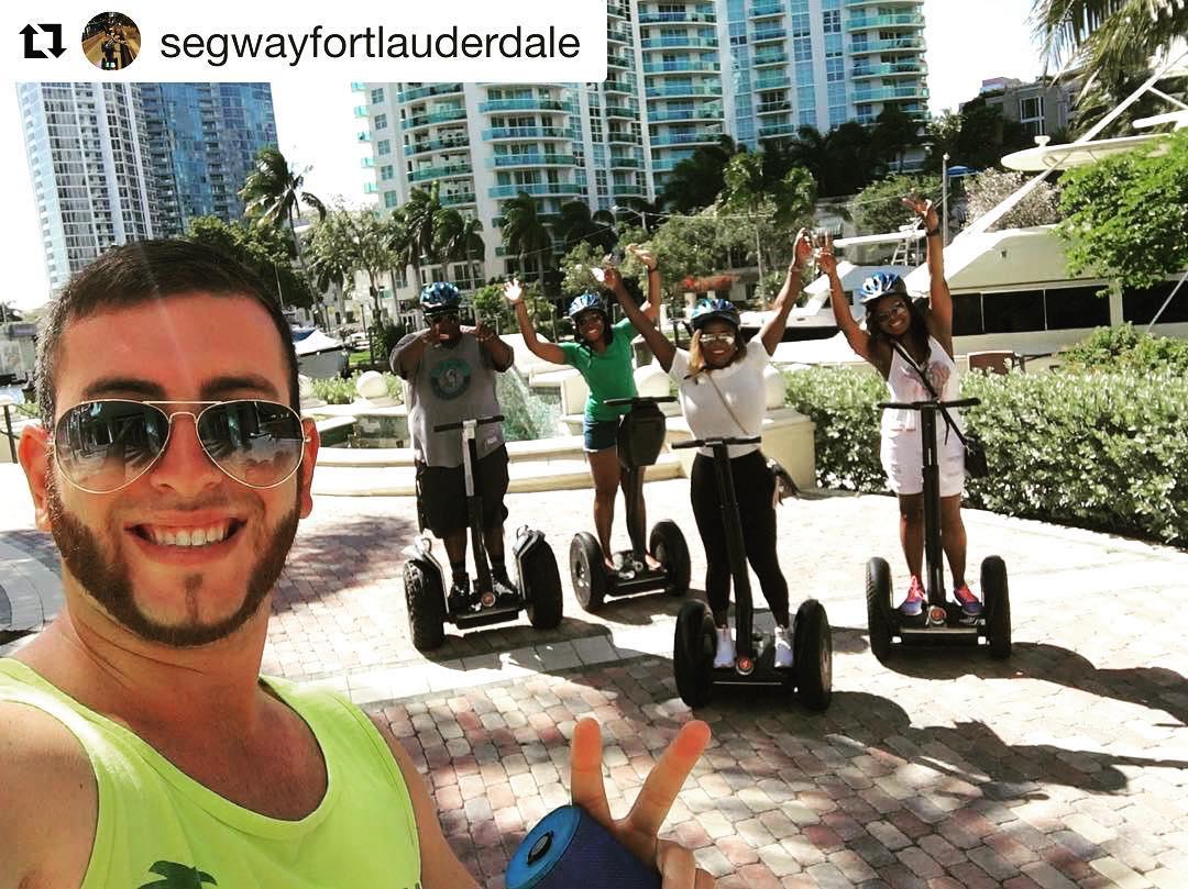 @segwayfortlauderdale ・・・