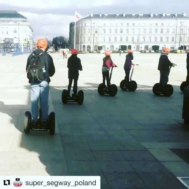 @super_segway_poland ・・・ Enjoy our Super SEGWAY City Tours of Warsaw led by an English- speaking guides!  We provide the Top Segway Tour in Poland according to TripAdvisor's reviews!  See more and have more fun with Super SEGWAY Tours  www.segway-tours.pl @segwayworldwide