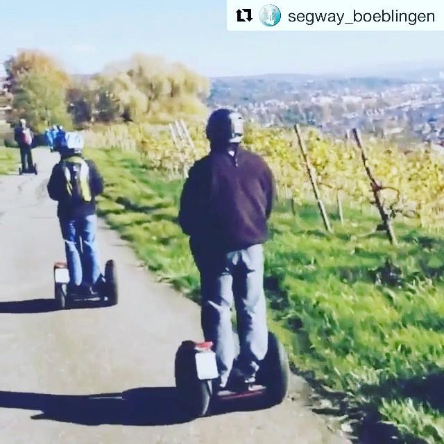 Gliding in the German countryside. Enjoy the glide  @segway_boeblingen ・・・ Segwaytouren in der Region Stuttgart. Hier finden und buchen. http://segway-boeblingen.de/segway-erlebnis-finder