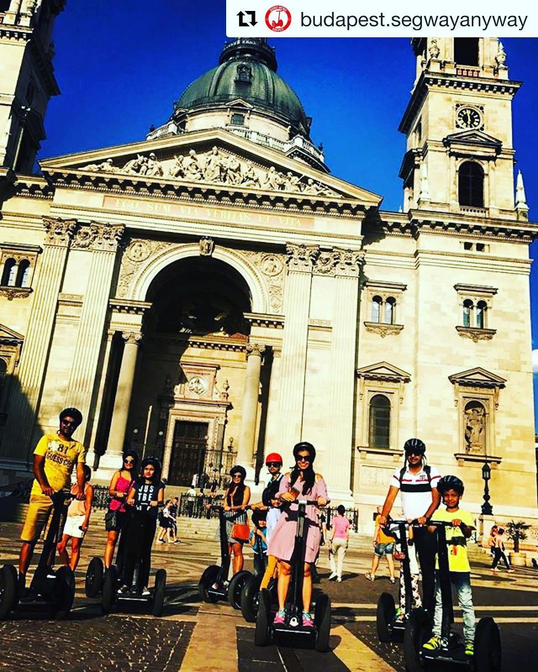 @budapest.segwayanyway ・ ・・ Exploring Budapest ️