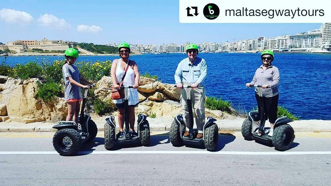 Malta Segway tours is the segway tour destination of the day  @maltasegwaytours ・・・ #malta🇲🇹 ;)