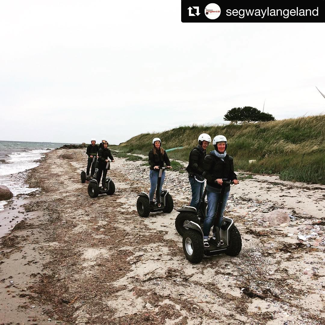 Beach segway tour of the day . @segwaylangeland ・・・ Always fun driving Segway on the beach.
