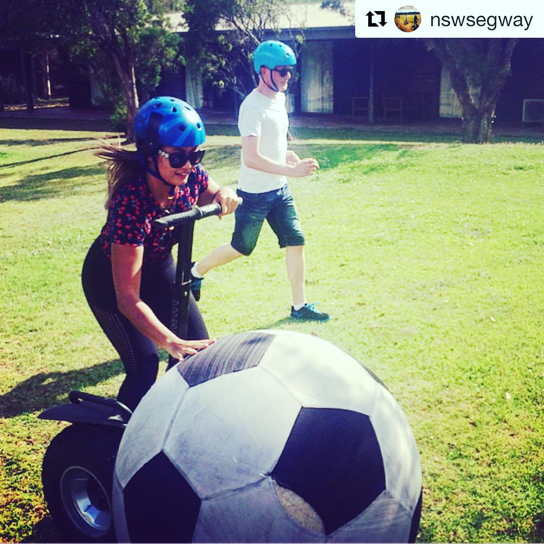 Fun games around the world on Segways continues with Segway Soccer in Australia . . @nswsegway ・・・ anyone? Check out our events
