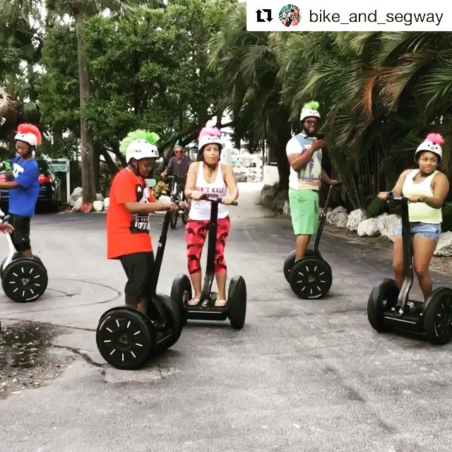 Segway dance moves in South Beach . @bike_and_segway ・・・ is the of tourist, you can see more while have Reserve your