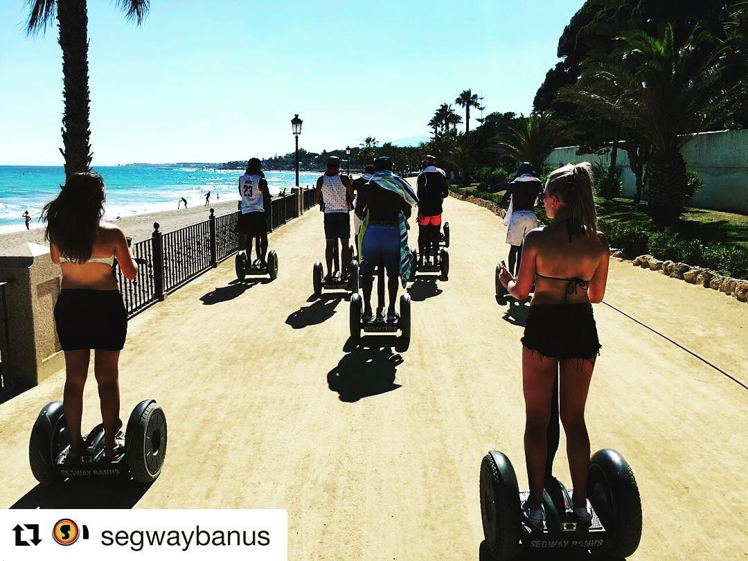 It's summer time to play at the beach segway style- find the perfect tour or rental with @segwayworldwide . . .  @segwaybanus ・・・ Are u ready for summer?