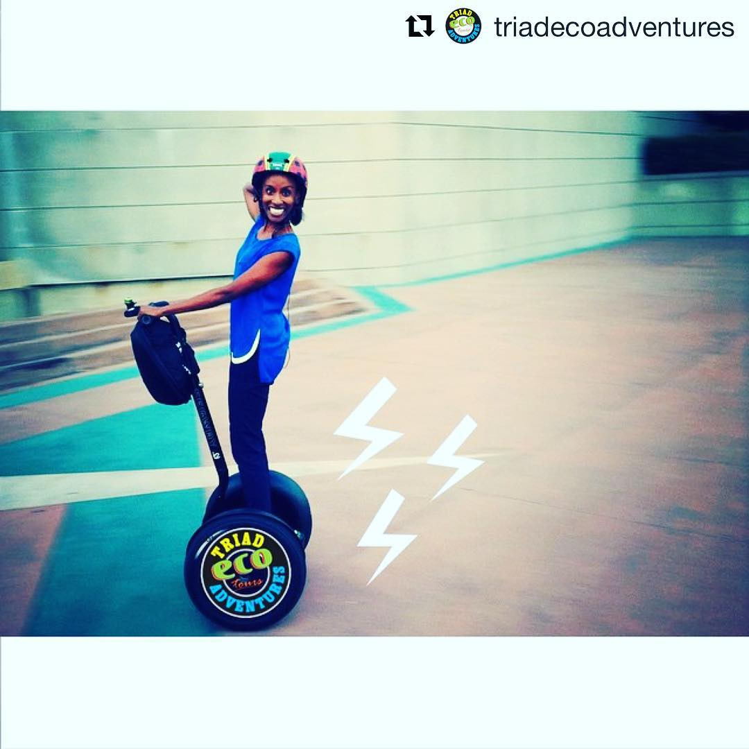 An electrifying tour experience in North Carolina . @triadecoadventures ・・・ Zoom on over to @triadecoadventures today to get a one of a kind experience in ️ 🐪️