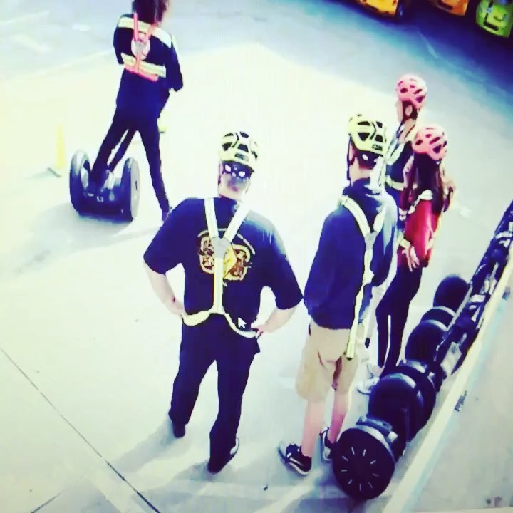 Another segway training going round and round at @sfsegway in San Francisco Ca . ..