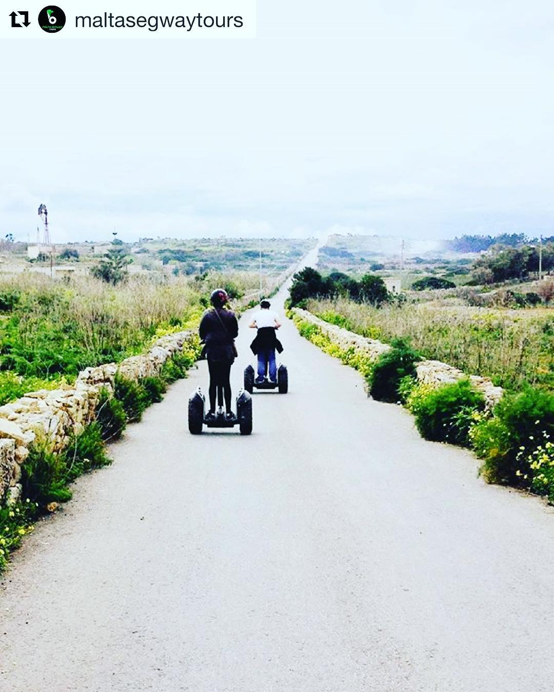 Our idea of the perfect road trip this summer! Malta 🇲🇹 is looking like the road that should be travelled. Check out @maltasegwaytours  Find your favorite destination @segwayworldwide .  @maltasegwaytours ・・・ the #malta🇲🇹