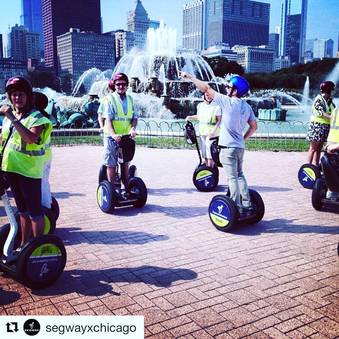 Segway tour of the day is @segwayxchicago in Chicago Illinois USA  . . @segwayxchicago ・・・