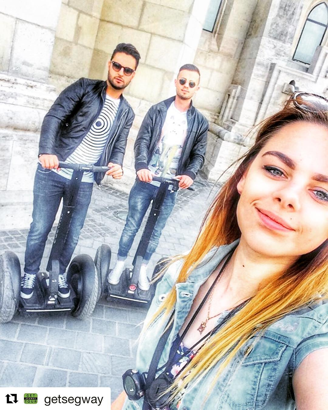 Segway selfie of the day from Budapest Hungary 🇭🇺 send your segway selfies by dm to be featured . . @getsegway ・・・ Let's take a selfie with our guides! This is Anastasia, she can speak in Russian and English.  Book your tours on our web site or just dm to us ️🤘🏻