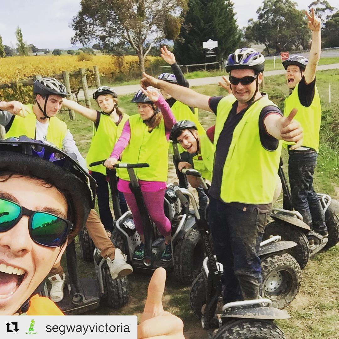 Segway selfie of the day in Victoria Australia 🇦🇺 Submit your segway selfies for a feature @segwayworldwide  @segwayvictoria ・・・ Another awesome @segwayvictoria tour with awesome guide @zacchad
