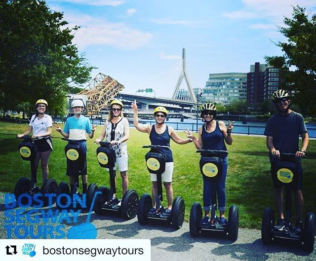 Segway Tour of the day is in Boston Massachusetts where you can glide along the harbor. @bostonsegwaytours ・・・ Visit the only in for a 5-star experience! Top rated on #TripAdvisor! www.bostonsegway.tours
