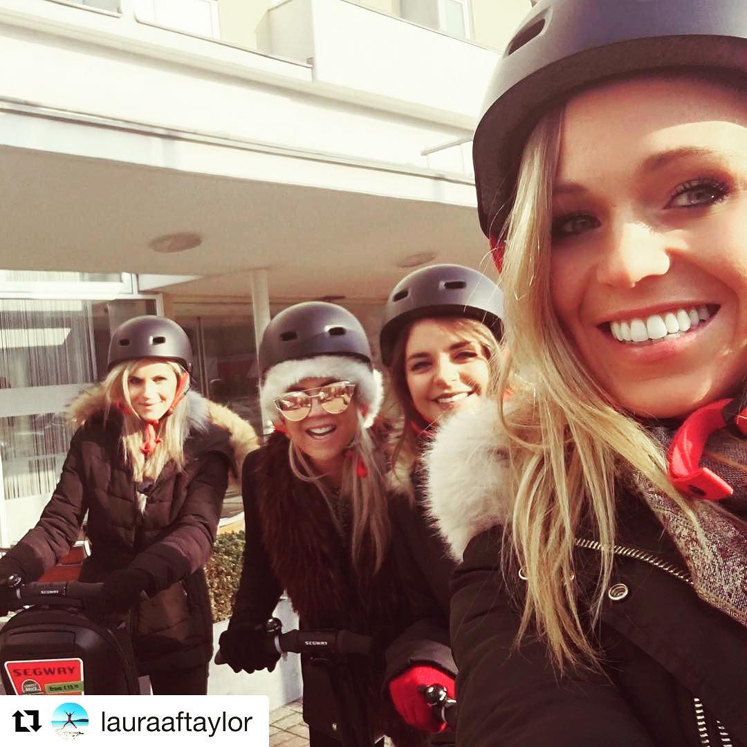 Segway selfie of the day from Berlin Germany  get out and find your segway smile on a guided tour. . . @lauraaftaylor ・・・ Berlin Segway Tour