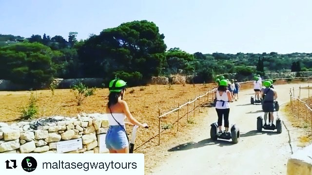 Segway tour video of the day from Malta 🇲🇹 get out and glide. Find the perfect segway tour in a city near you on @segwayworldwide website . . . @maltasegwaytours #malta️