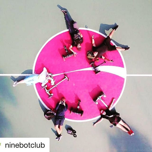 Looks like the Ninebot club in Jakarta Indonesia 🇮🇩 is out exploring and creating community while riding all versions of the ninebot. Get out and glide!  @ninebotclub ・・・ United in Ninebot 😎🤗 @chiefyflicker @unityoktafi @viga.nunu @bobby_spyzer @averyzie