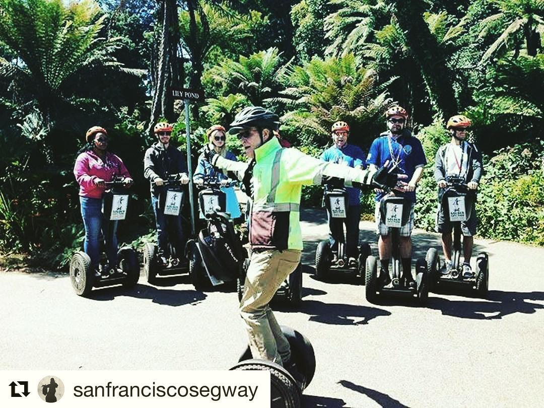 Celebrating the 50th Anniversary of the Summer of Love with a few segway dance moves in San Francisco . . @sanfranciscosegway ・・・ Dance lessons are no extra charge on all of our San Francisco segway tours! If you like parks - Spend some time with us gliding past the amazing Conservatory of Flowers. @conservatoryofflowers  @deyoungmuseum @calacademy and Japanese Tea Garden. Put a in your hair and learn about the on  our Summer of Love 50th Anniversary tour. San Francisco is a great time to visit. Get out and see the amazing park on a segway tour. It's always a perfect day for a segway tour. . . .