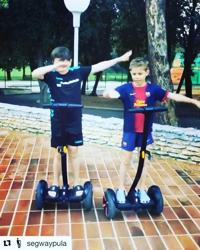 Segway minis combined with a pair of mini dabs! Segway Boomerang of the day from Pula Croatia 🇭🇷 Get out and glide with one of 700 segway and ninebot companies featured on . . @segwaypula ・・・ 🏻🏼