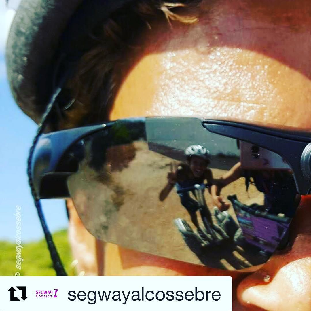 Mirror mirror reflections on the segway ride! Segway selfie of the day from adventures in Spain  Get out and glide! . . @segwayalcossebre ・・・ No son solo unas #gafas, estas tienen . 🕶   No dejais de sorprendernos, nos quedamos con ganas de ver el