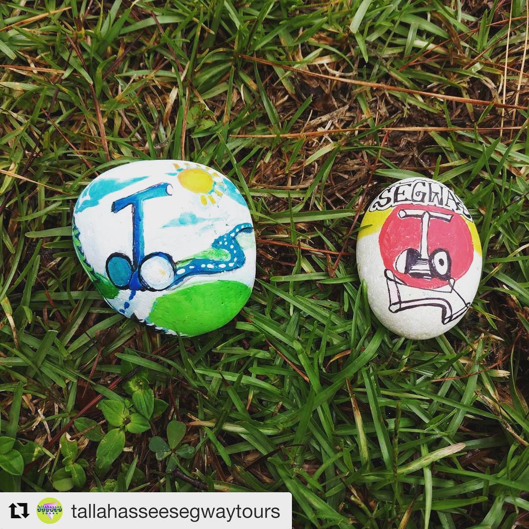 We agree Segways rock! Rock and roll with the fine folks in Tallahassee Florida USA  . @tallahasseesegwaytours ・・・ Find one of the hidden Segway rocks and get 50% off your next #TallahasseeSegwayTour!  Post with the tag or let us know of your find to take advantage of this sweet deal!