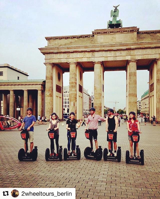 Segway tour destination of the day is Berlin Germany  One of 700 fun segway and Ninebot tour destinations featured on segway-tours-worldwide.com . . @2wheeltours_berlin ・・・ Sunny day in Berlin 😎