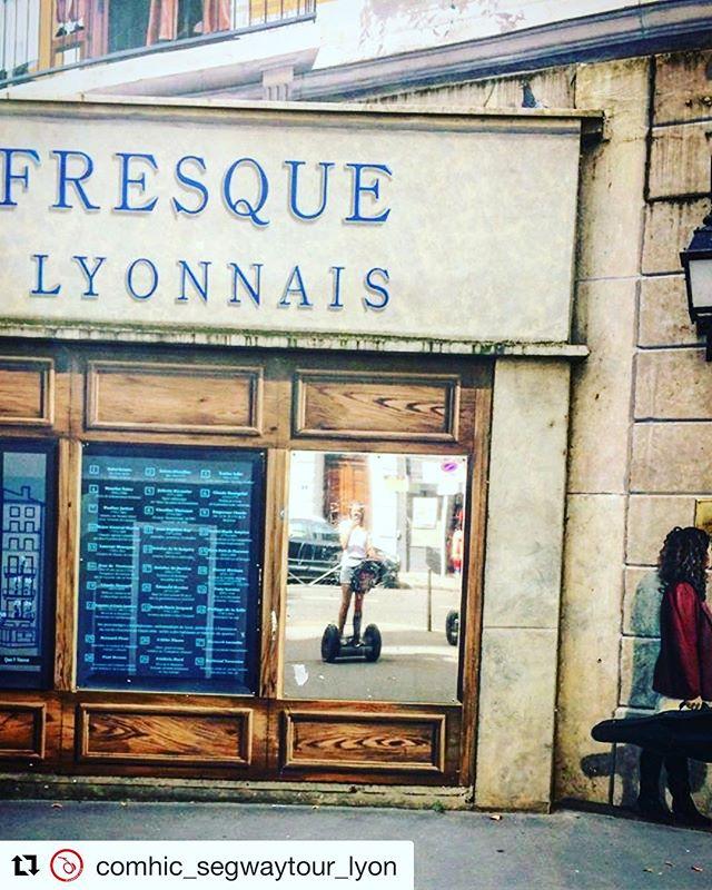 Mirror mirror who is the best segway tour in Lyon?  @comhic_segwaytour_lyon ・・・ Tout le monde peut faire partie de la fresque des lyonnais  ... Vous aussi partagez vos coins préférés #️⃣📸 ...