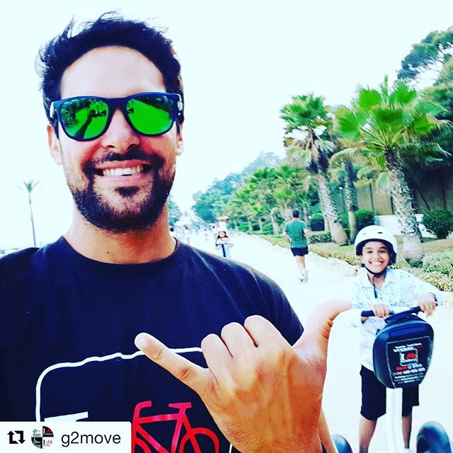 Segway selfie of the day from Marbella Spain  . @g2move ・・・ with