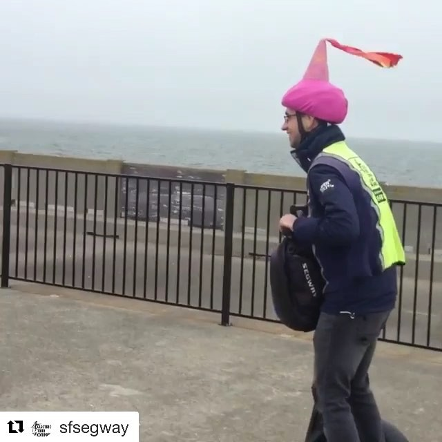 Segway princess sighting in @fishermanswharf @sfsegway @sanfranciscosegway ・・・ Even royalty gets a kick with our segways tours. . . . . . . . . . . .