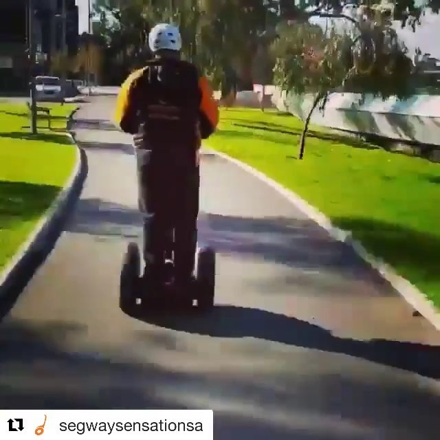 "Hang on segeay ride in Australia 🇦🇺 @segwaysensationsa ・・・ ***Press Play ️*** . Only 2 Days Left to Vote!!! . @segwaysensationsa has been nominated for Best Experience or Attraction in the ""City Awards 2018"" . We're a proudly South Australian owned and operated business - and if you love what we do, we would love if you could spend 30 seconds to VOTE for us️🏼 . Simply click on adelaidenow.com.au and cast your vote under ""best attraction or experience"". . Voting ends on Wednesday, June 27th so please vote as many times as you can! . . THANKS EVERYONE️ . @eagleace006 showing off his stuntman, cameraman and directing skills!"