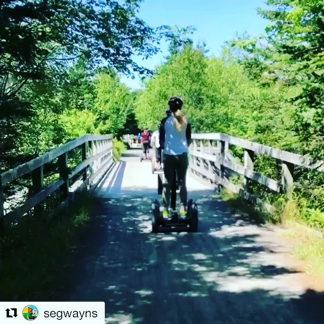 Enjoy a summer Segway cruise in Nova Scotia @segwayns ・・・ Let us show you the greatness this province has to offer
