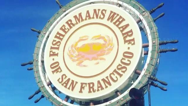 Segway Santa greetings from Fisherman's Wharf from @sfsegway and  @sanfranciscosegway. . . . .