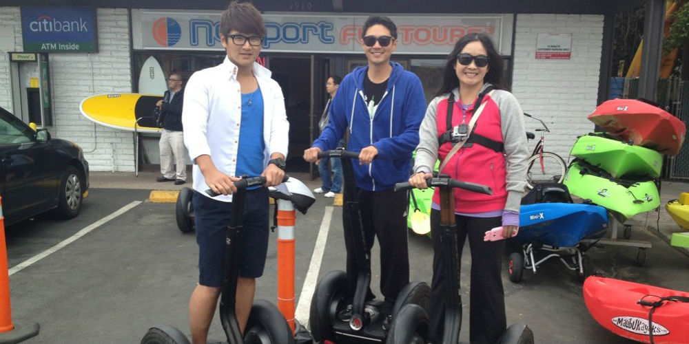 Balboa Fun Tours Newport Beach And Segway California