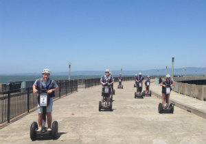 San Francisco Waterfront and Wharf Mini Segway Tour
