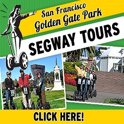 Golden Gate Park Segway Tours - San Francisco California