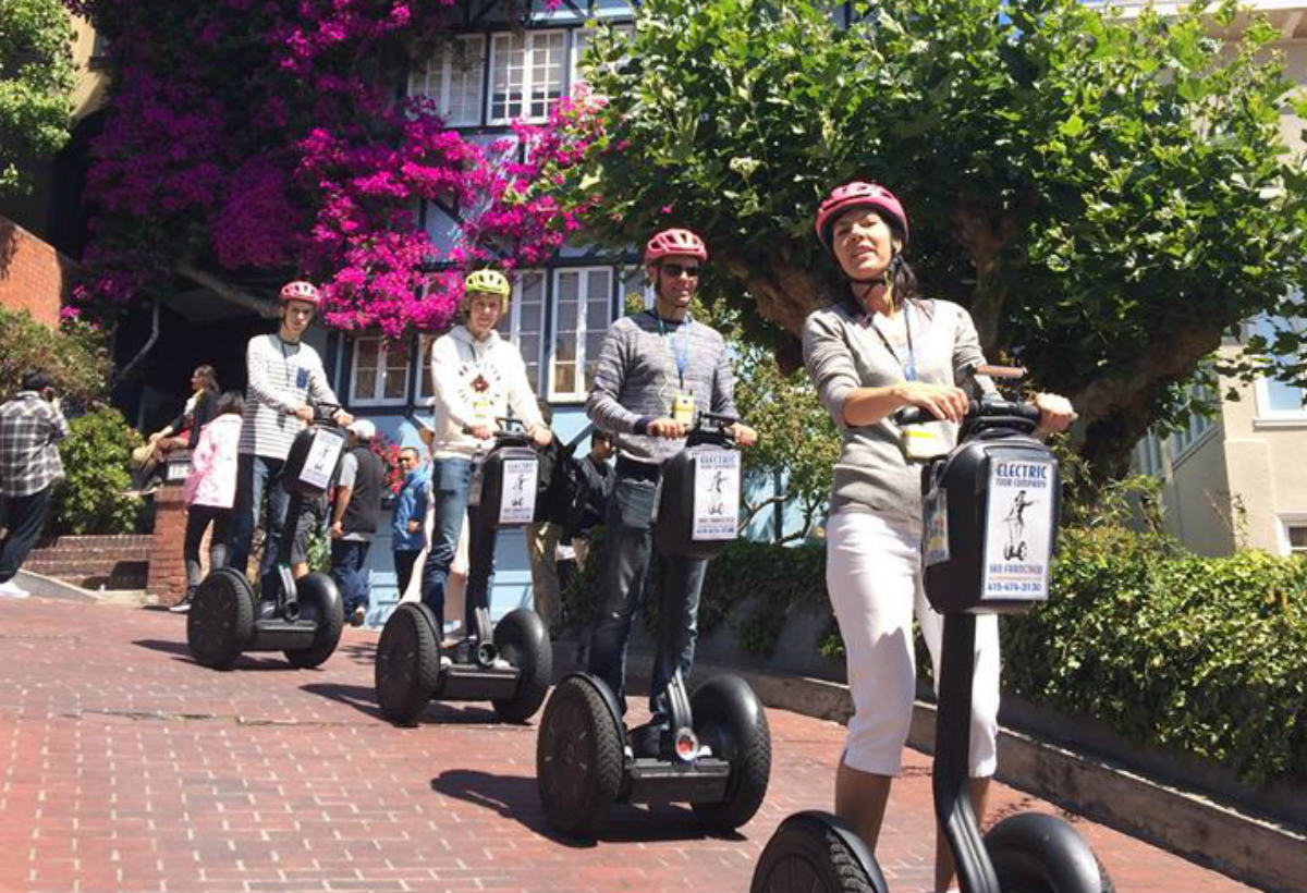 Best Five Segway Tours in San Francisco