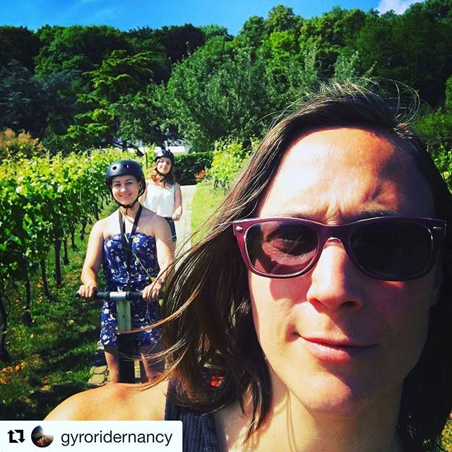 Segway selfie from the Lorraine region of France  send us your segway selfies to be featured ! . . @gyroridernancy ・・・ Dans les vignes dommartemontaises... ️😎