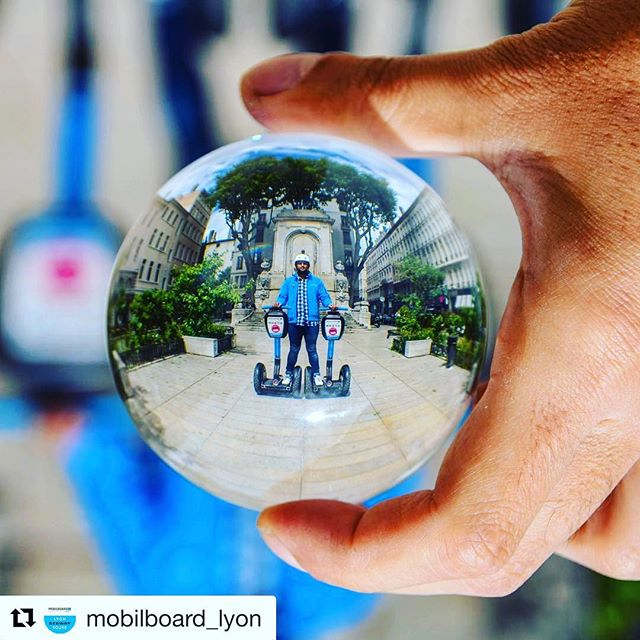 Segway tour picture of the day from Lyon France  and @mobilboard_lyon . . @mobilboard_lyon (@get_repost) ・・・